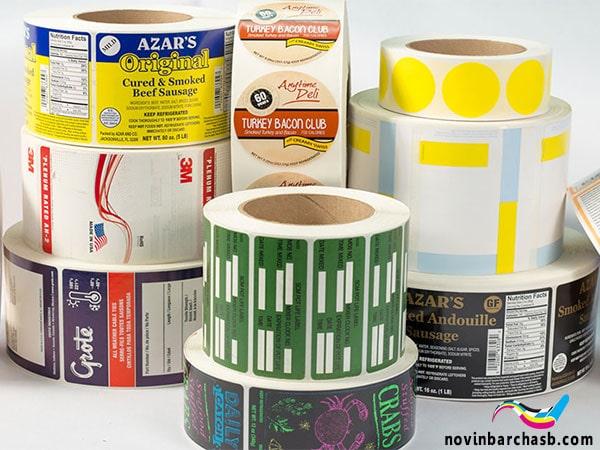 تولید انواع لیبل و برچسب